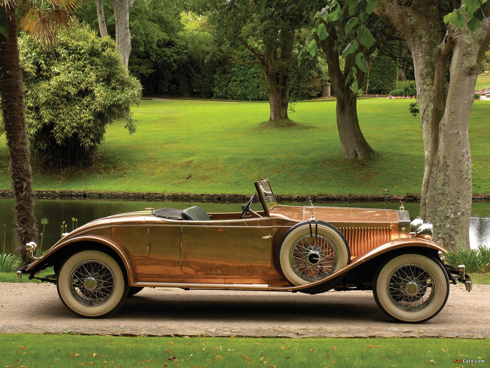 Pictures of Rolls-Royce Phantom II Open Tourer by Brockman 1930 (1600 x 1200)