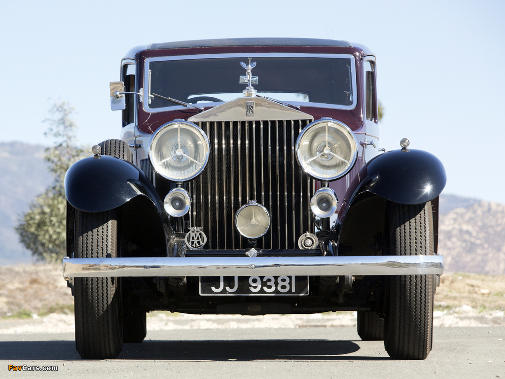 Pictures of Rolls-Royce Phantom II Continental Touring Saloon by Barker 1933 (1024 x 768)