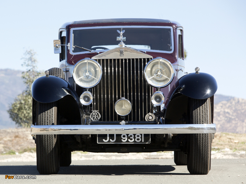 Pictures of Rolls-Royce Phantom II Continental Touring Saloon by Barker 1933 (800 x 600)
