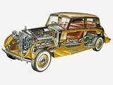 Pictures of Rolls-Royce Phantom III Saloon by Mulliner 1938