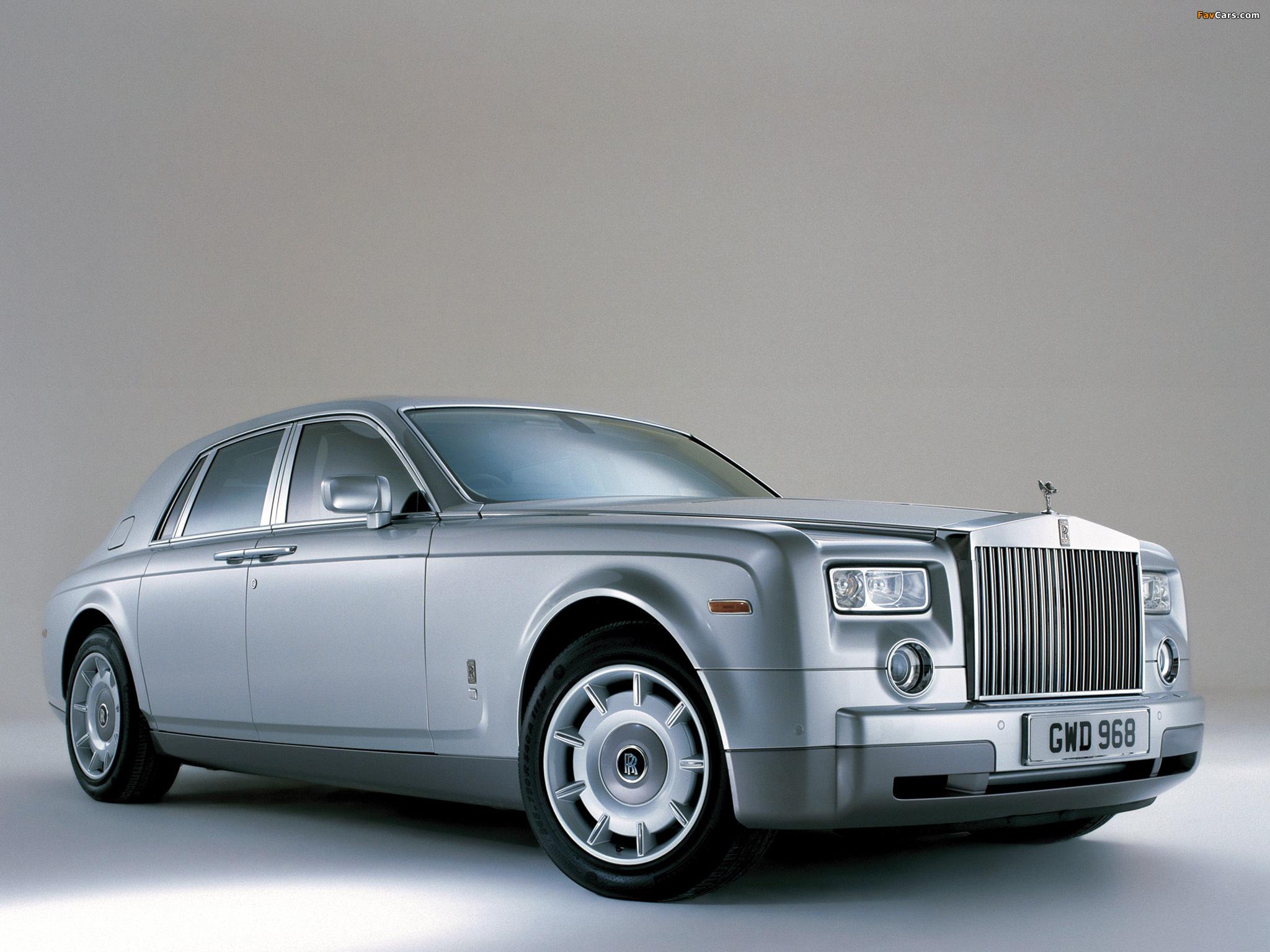 Pictures of Rolls-Royce Phantom UK-spec 2003–09 (2048 x 1536)