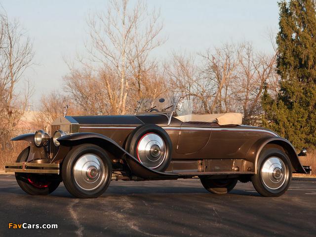 Rolls-Royce Phantom I York Roadster 1925 pictures (640 x 480)