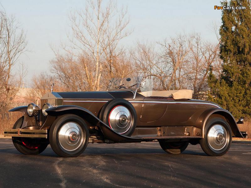 Rolls-Royce Phantom I York Roadster 1925 pictures (800 x 600)