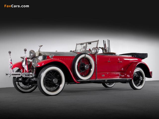 Rolls-Royce Phantom I Tourer 1925 pictures (640 x 480)