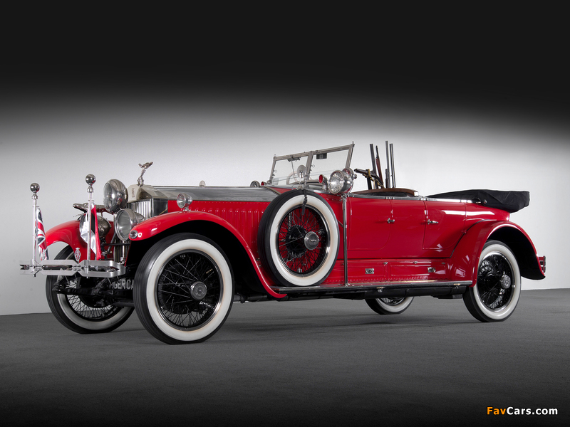 Rolls-Royce Phantom I Tourer 1925 pictures (800 x 600)
