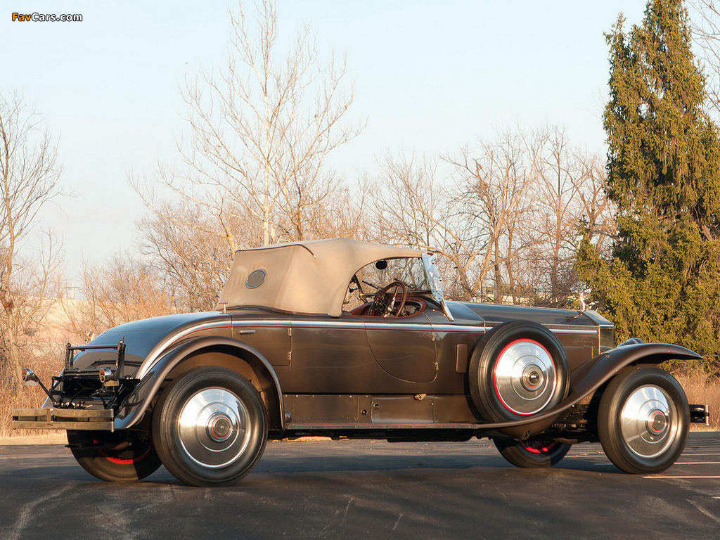 Rolls-Royce Phantom I York Roadster 1925 wallpapers (1024 x 768)