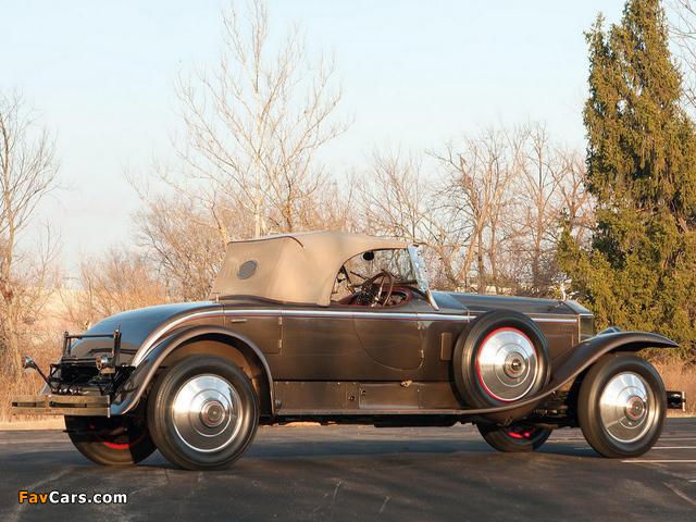 Rolls-Royce Phantom I York Roadster 1925 wallpapers (640 x 480)