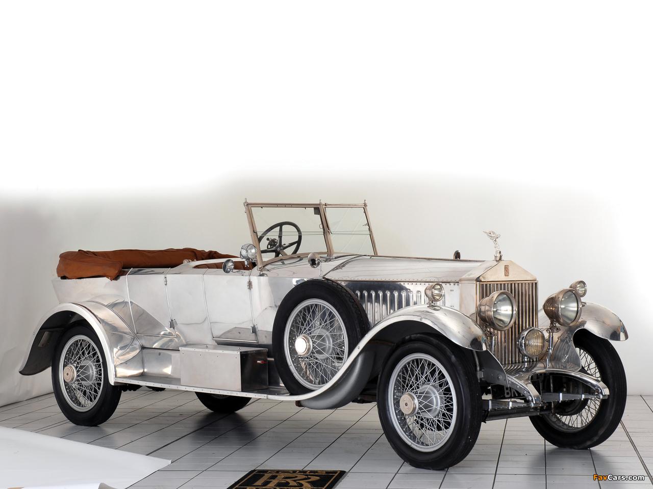 Rolls-Royce Phantom I 40/50 HP Open Tourer by Windover 1926 photos (1280 x 960)
