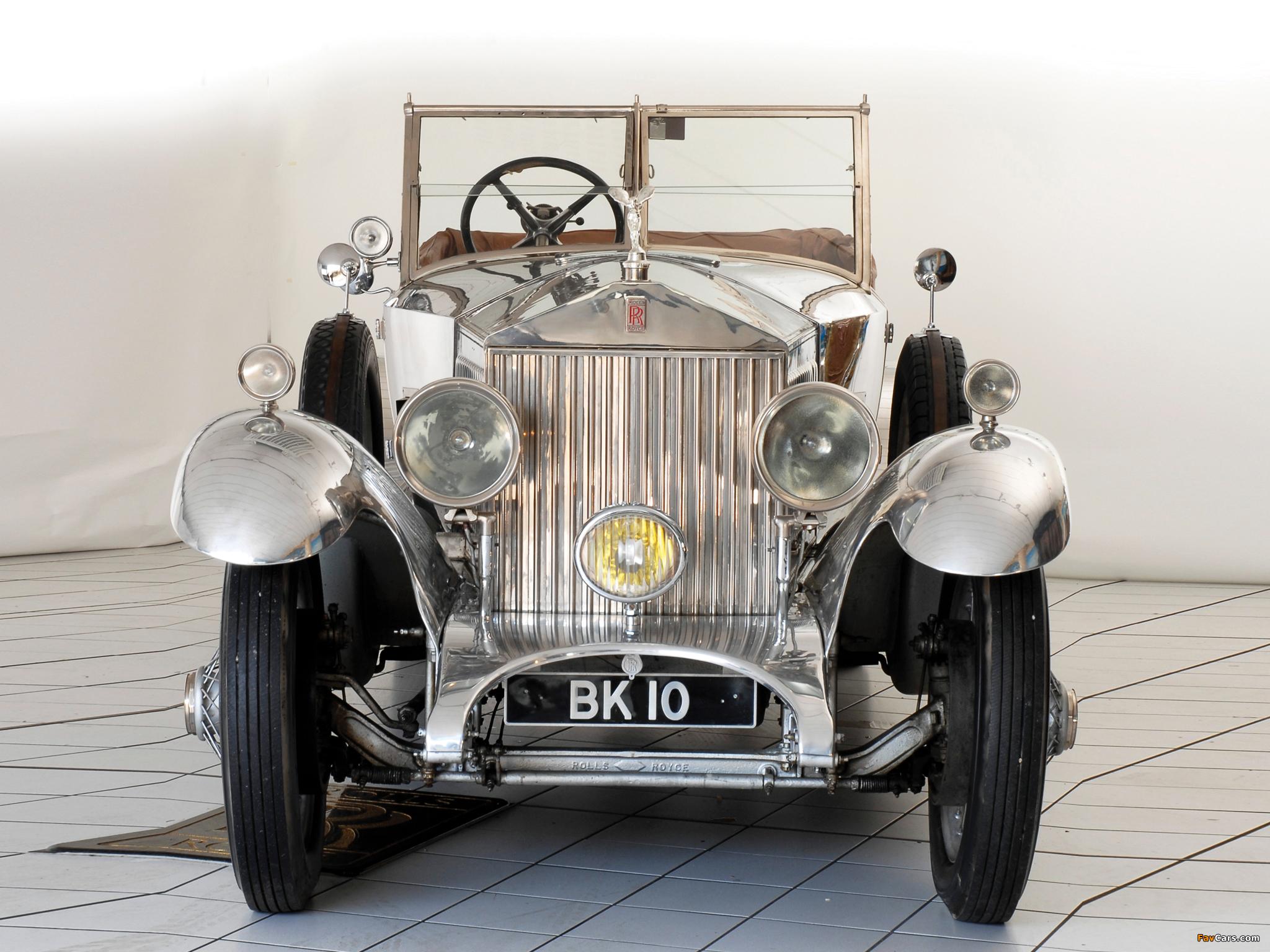 Rolls-Royce Phantom I 40/50 HP Open Tourer by Windover 1926 pictures (2048 x 1536)