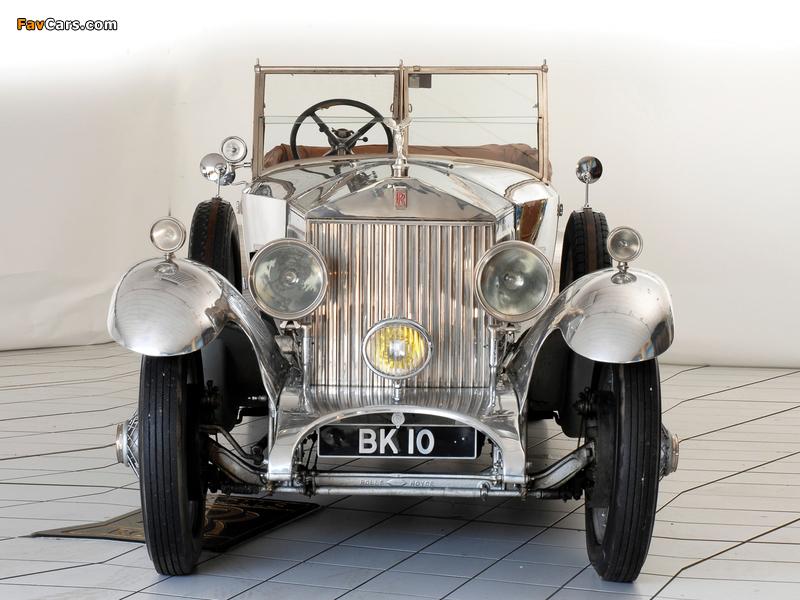 Rolls-Royce Phantom I 40/50 HP Open Tourer by Windover 1926 pictures (800 x 600)