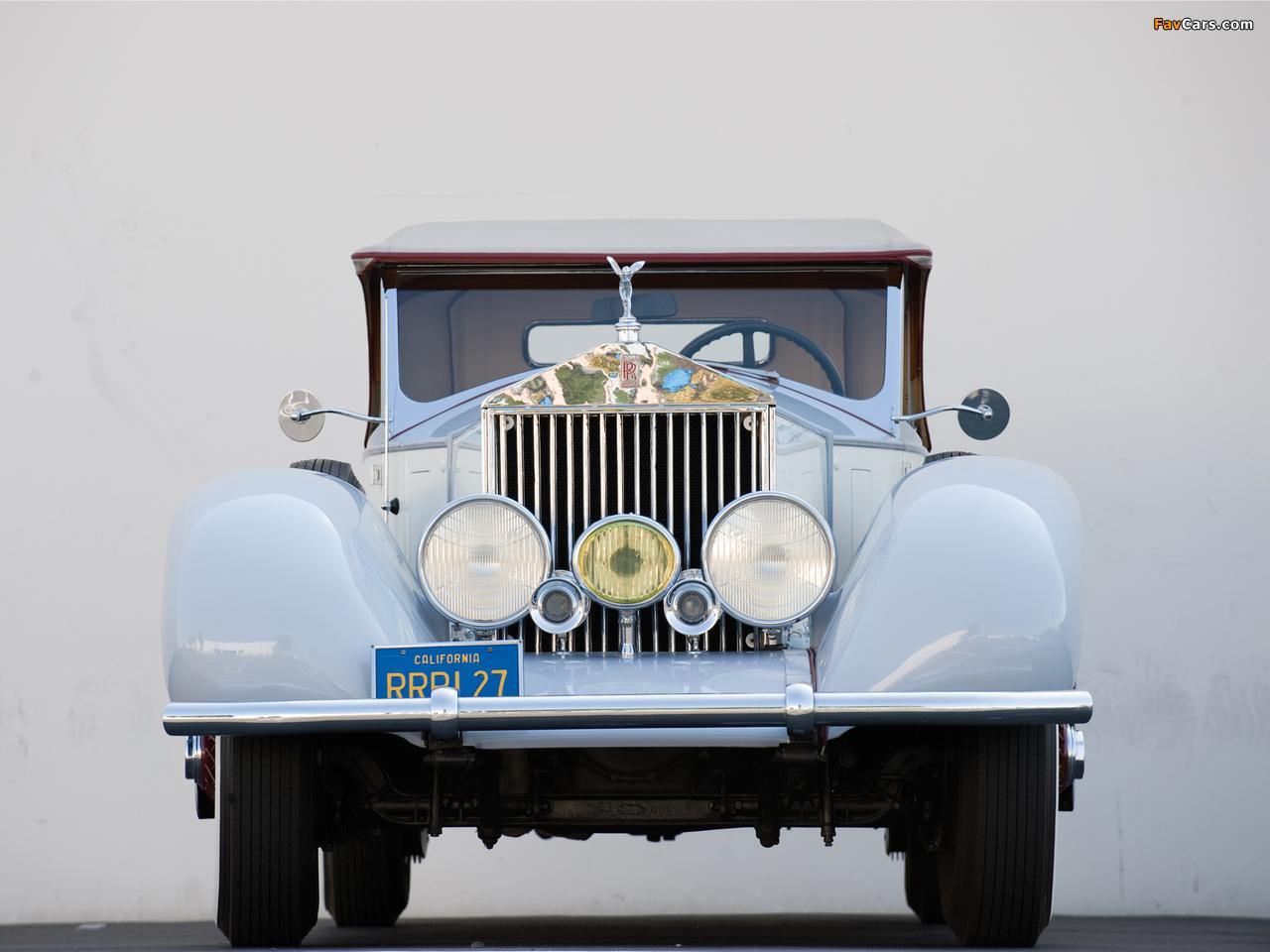 Rolls-Royce Phantom I Playboy Roadster 1927 photos (1280 x 960)