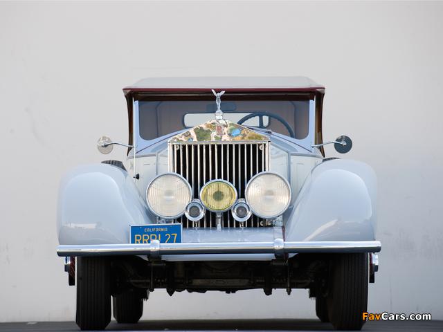 Rolls-Royce Phantom I Playboy Roadster 1927 photos (640 x 480)