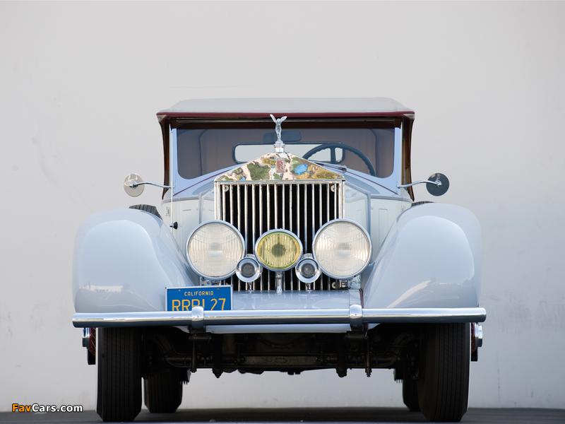 Rolls-Royce Phantom I Playboy Roadster 1927 photos (800 x 600)