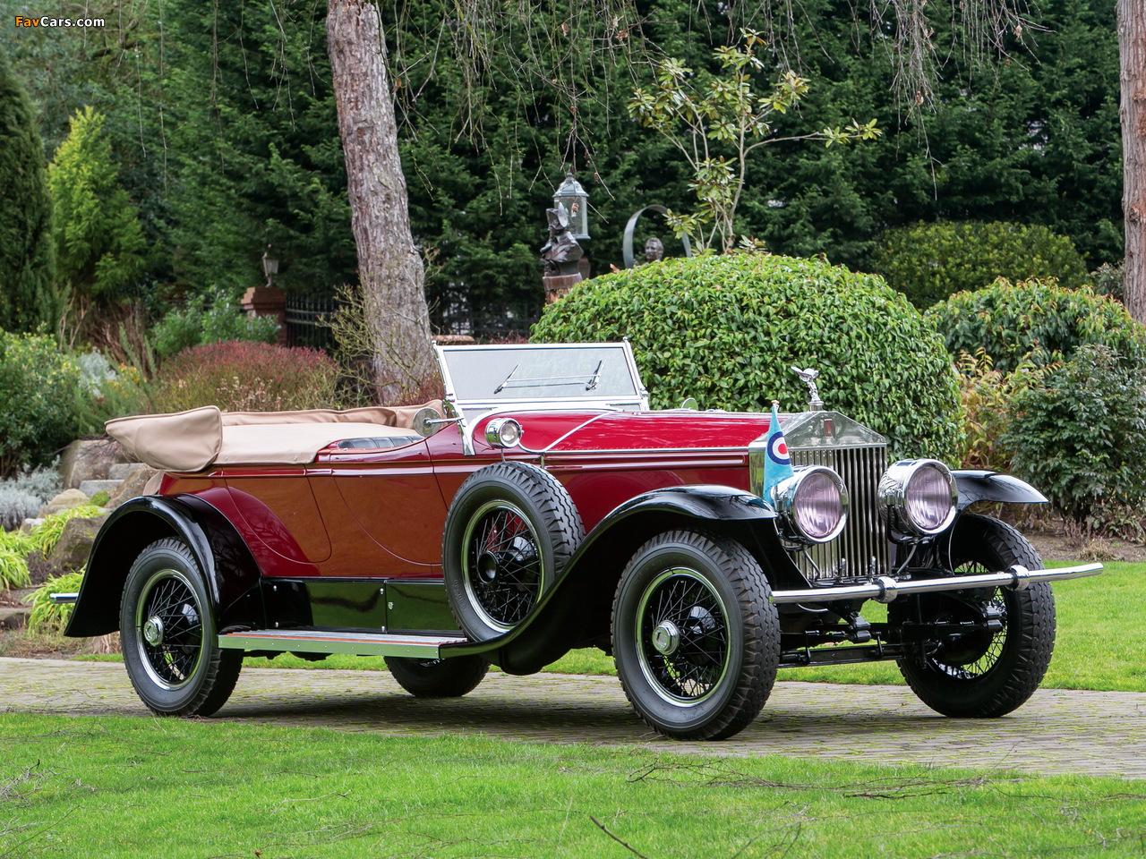 Rolls-Royce Phantom I Derby Speedster by Brewster (S155PM) 1927 photos (1280 x 960)