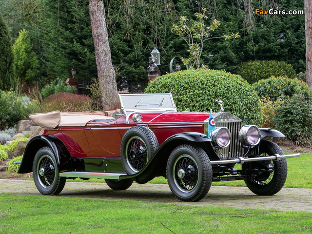 Rolls-Royce Phantom I Derby Speedster by Brewster (S155PM) 1927 photos (640 x 480)