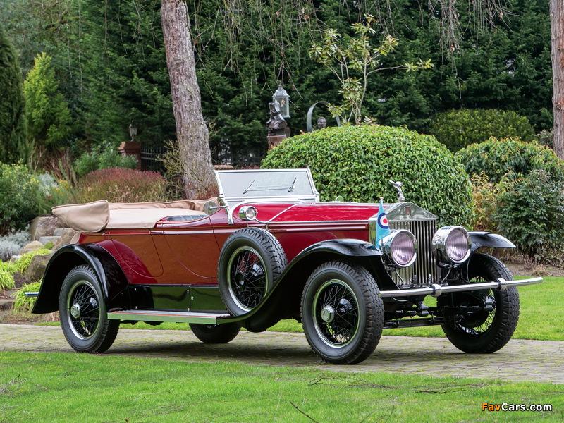 Rolls-Royce Phantom I Derby Speedster by Brewster (S155PM) 1927 photos (800 x 600)