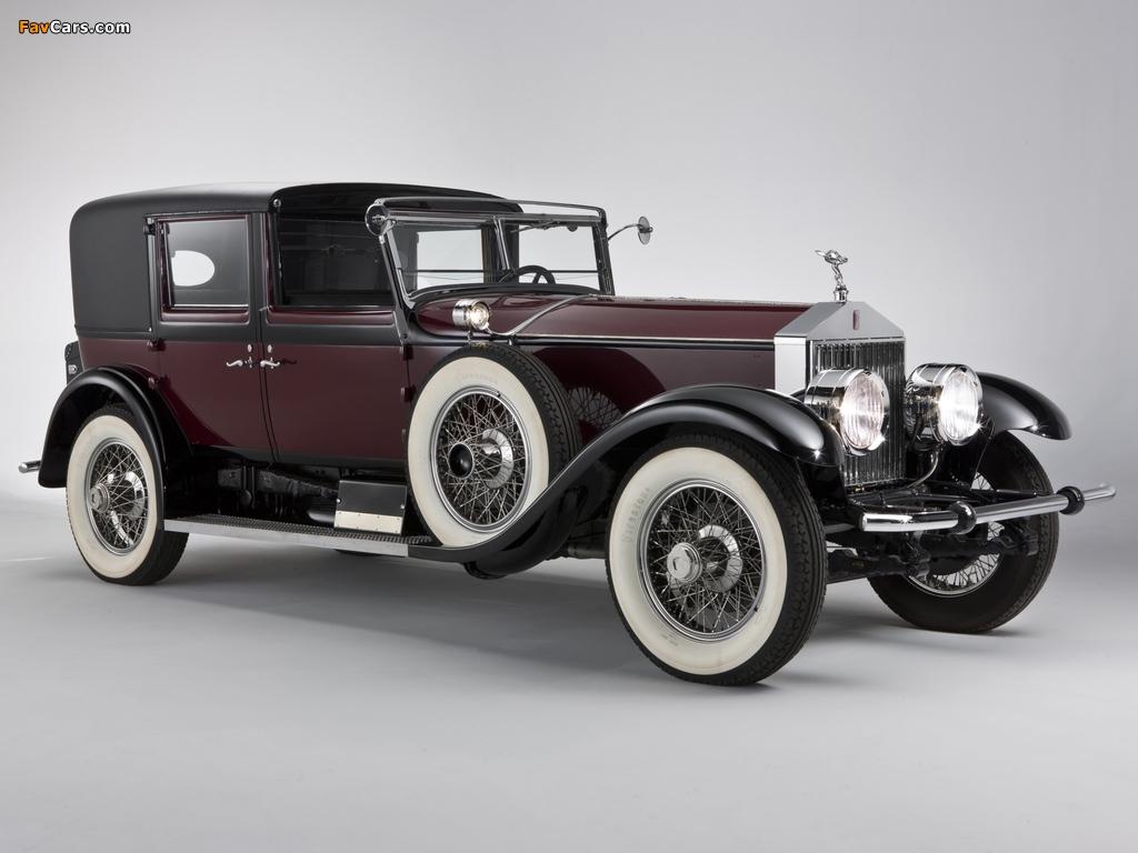 Rolls-Royce Springfield Phantom I Town Car by Hibbard & Darrin 1928 photos (1024 x 768)