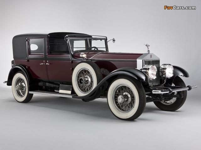 Rolls-Royce Springfield Phantom I Town Car by Hibbard & Darrin 1928 photos (640 x 480)