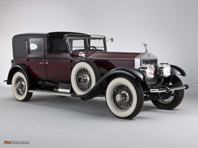 Rolls-Royce Springfield Phantom I Town Car by Hibbard & Darrin 1928 photos (800 x 600)
