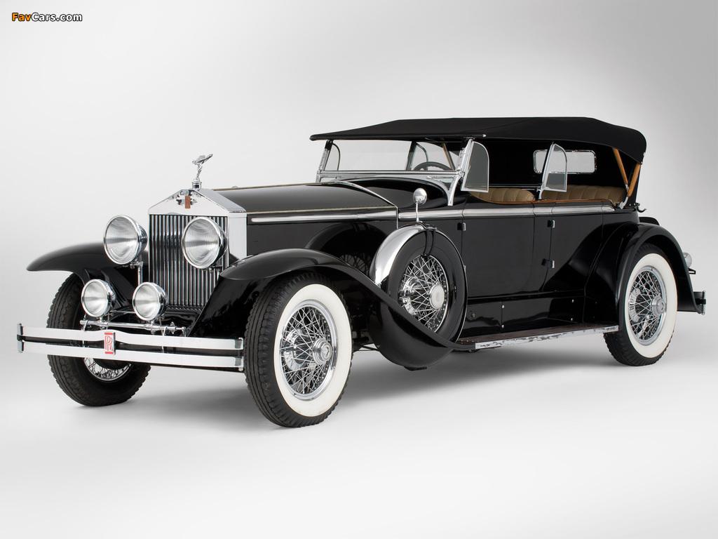 Rolls-Royce Springfield Phantom I Ascot Sport Phaeton by Brewster (S364LR-7174) 1929 images (1024 x 768)