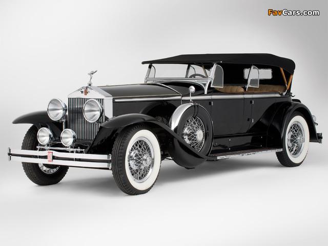 Rolls-Royce Springfield Phantom I Ascot Sport Phaeton by Brewster (S364LR-7174) 1929 images (640 x 480)