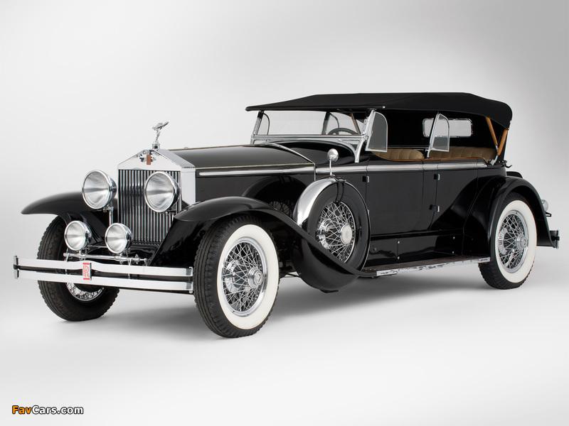 Rolls-Royce Springfield Phantom I Ascot Sport Phaeton by Brewster (S364LR-7174) 1929 images (800 x 600)