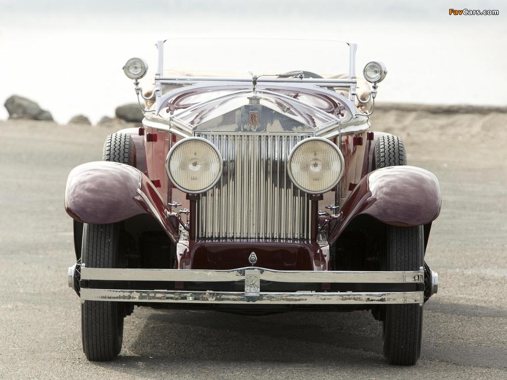Rolls-Royce Phantom I Ascot Tourer by Brewster (S178FR) 1929 images (1024 x 768)