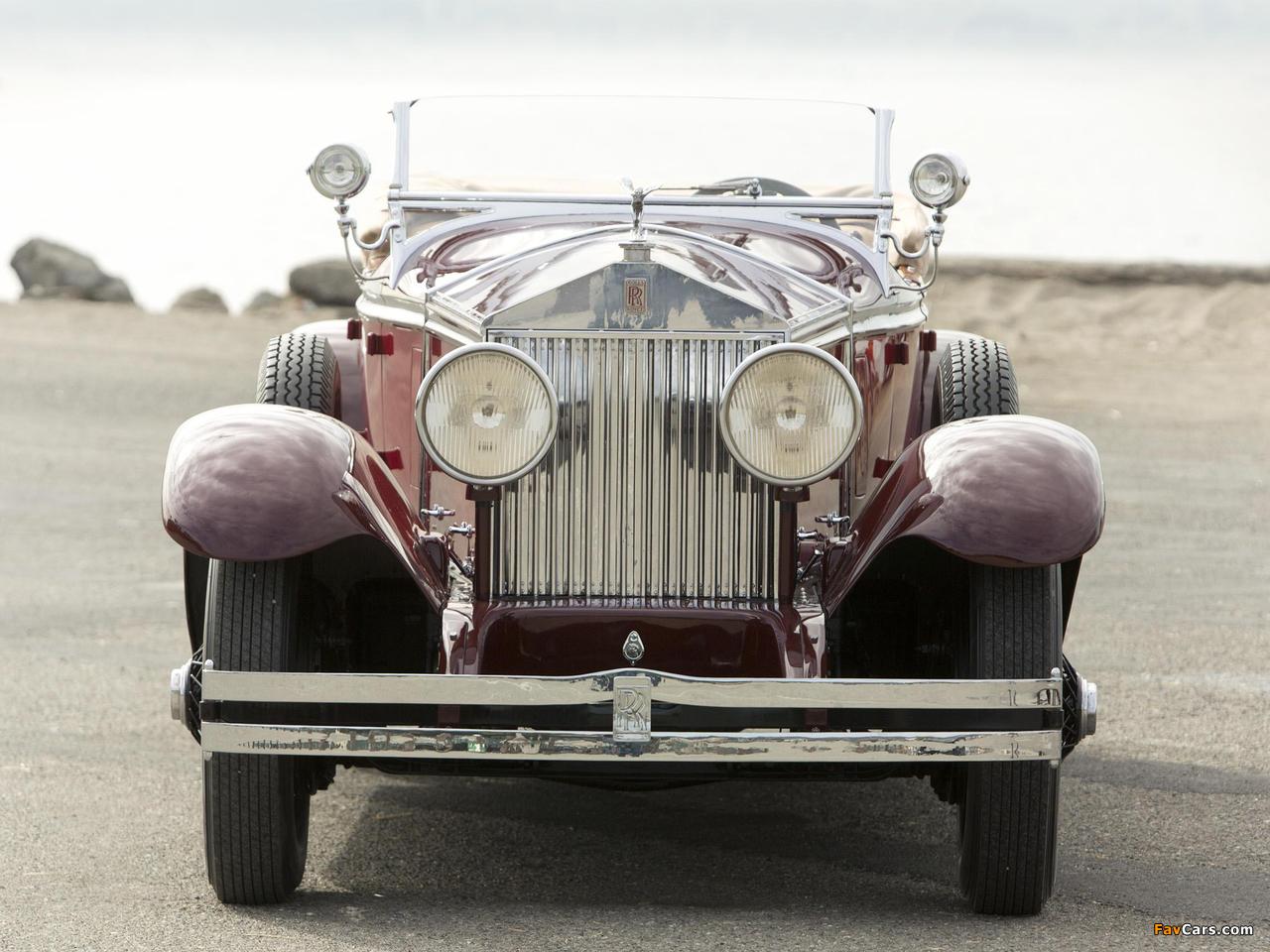 Rolls-Royce Phantom I Ascot Tourer by Brewster (S178FR) 1929 images (1280 x 960)