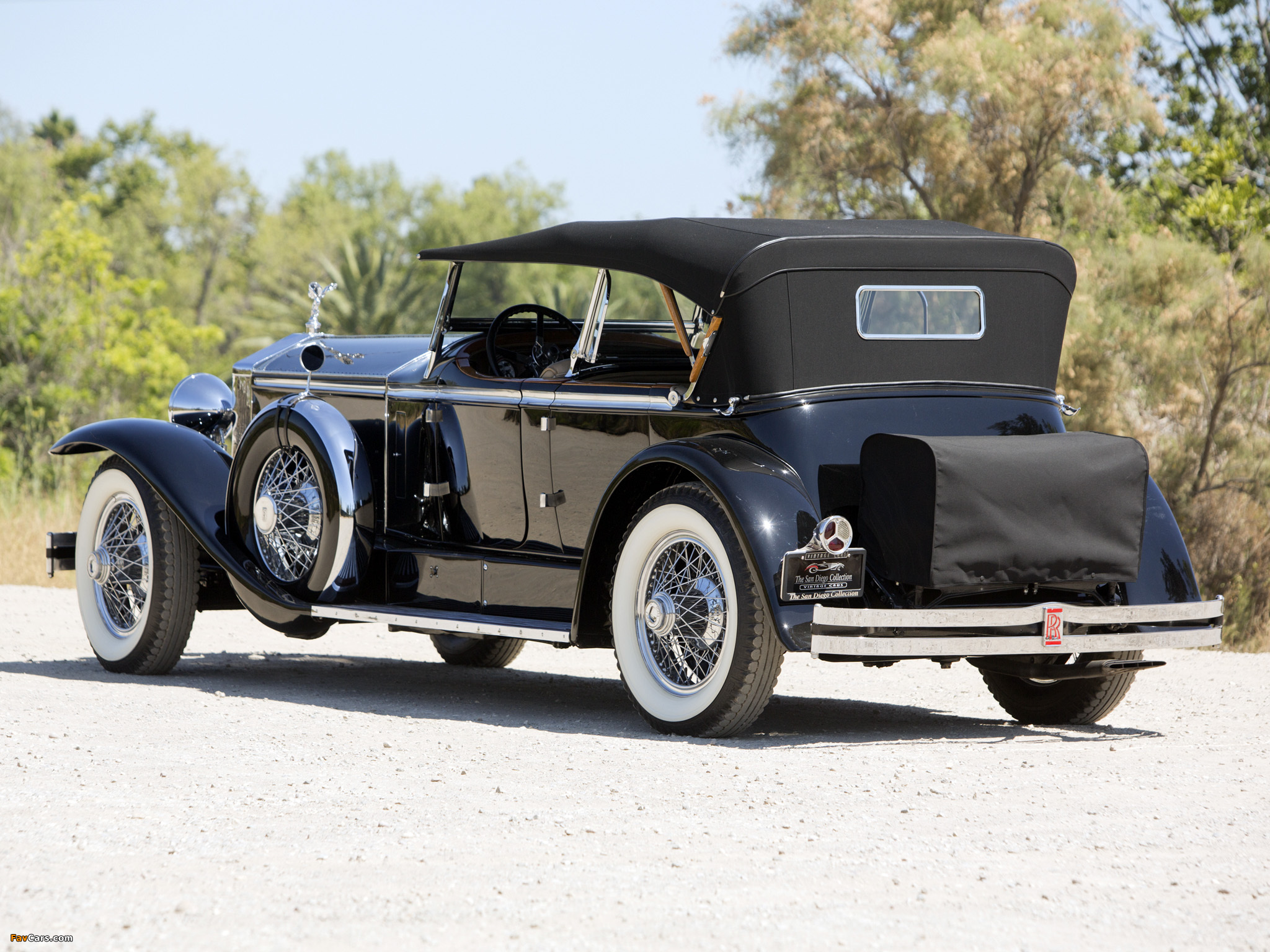 Rolls-Royce Springfield Phantom I Ascot Sport Phaeton by Brewster (S364LR-7174) 1929 images (2048 x 1536)