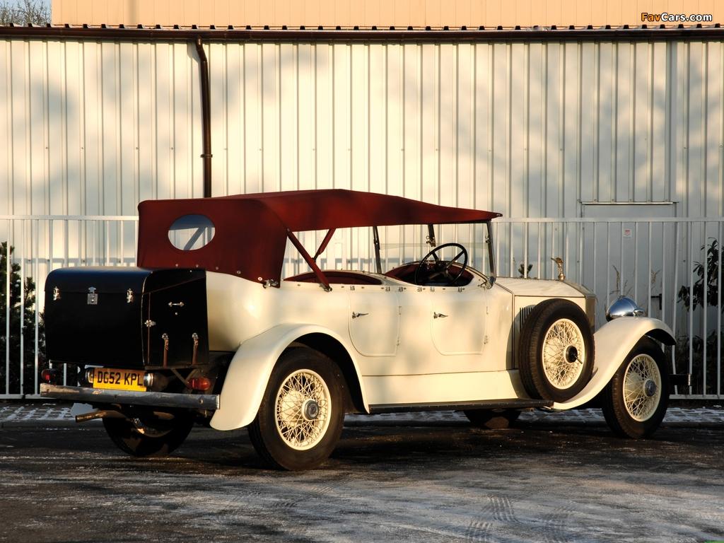Rolls-Royce Phantom II 40/50 HP Open Tourer 1929 photos (1024 x 768)