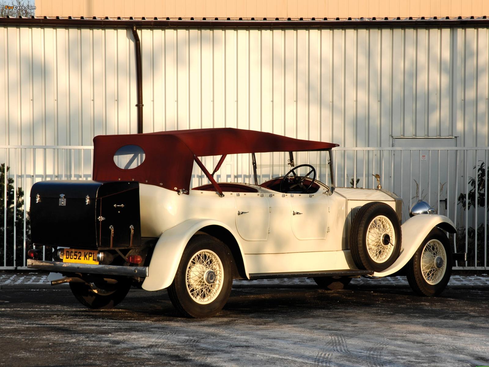 Rolls-Royce Phantom II 40/50 HP Open Tourer 1929 photos (1600 x 1200)