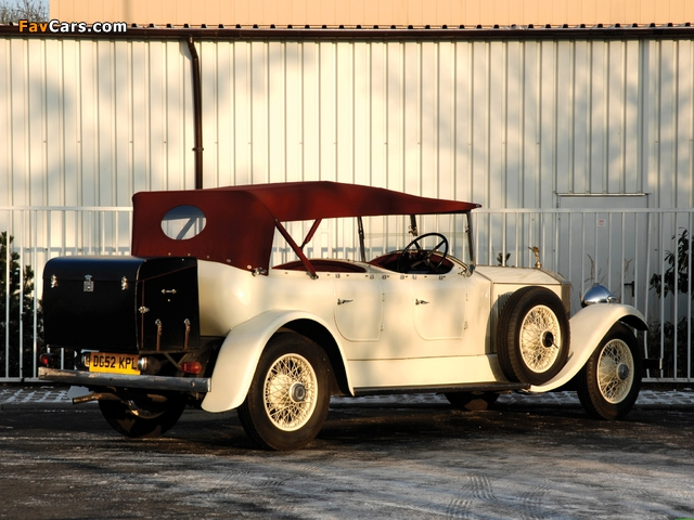 Rolls-Royce Phantom II 40/50 HP Open Tourer 1929 photos (640 x 480)
