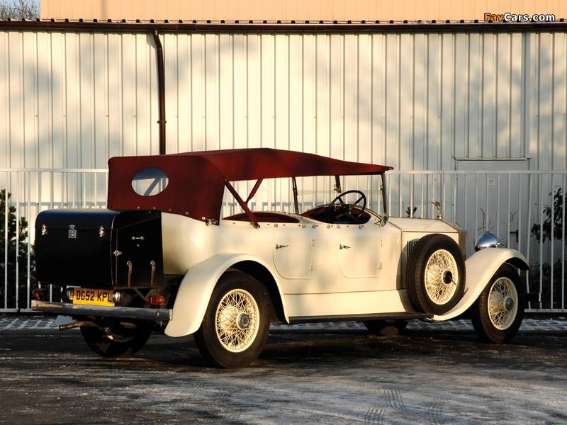 Rolls-Royce Phantom II 40/50 HP Open Tourer 1929 photos (800 x 600)