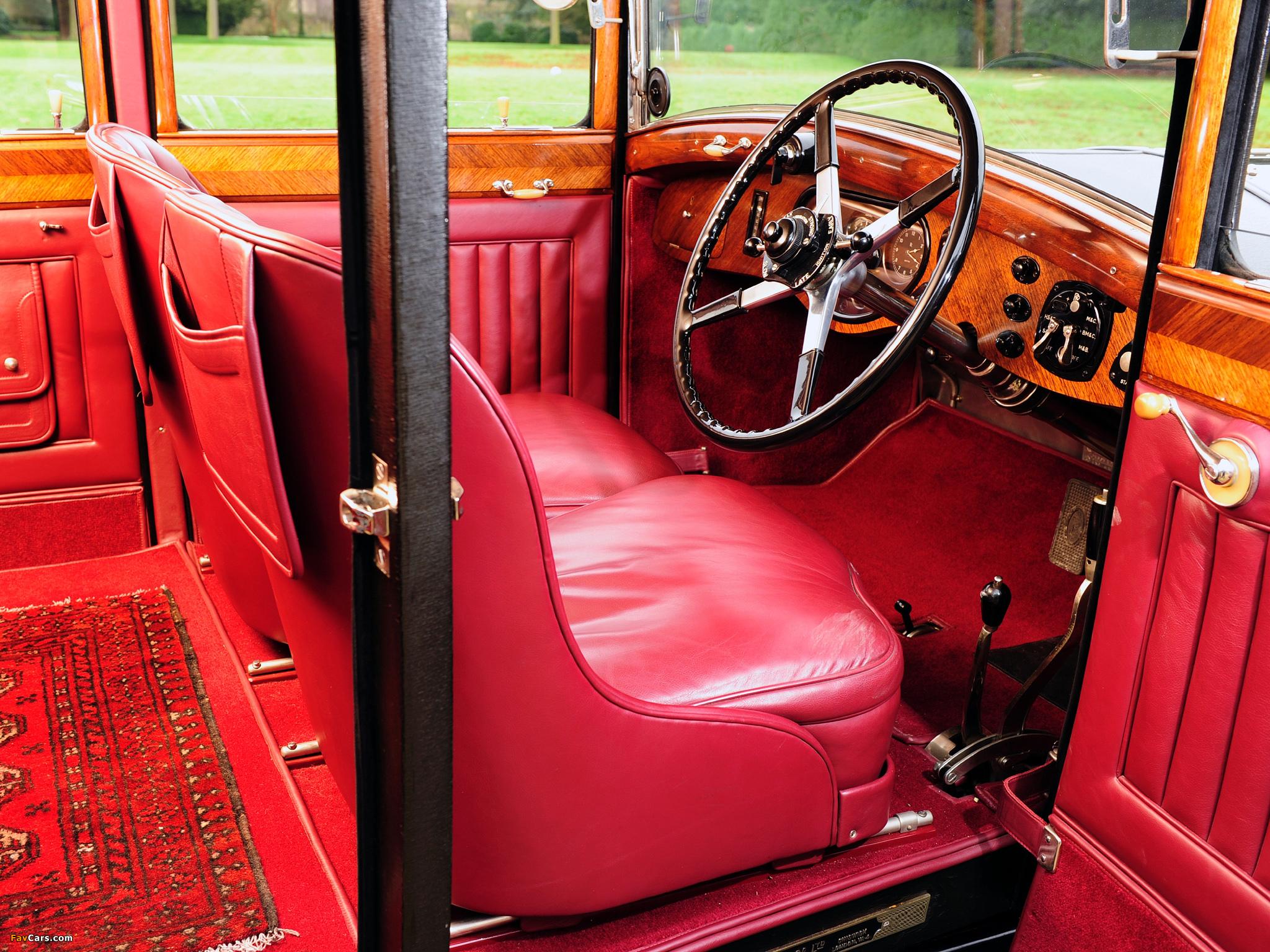 Rolls-Royce Phantom II 40/50 HP Weymann Sports Saloon 1929 photos (2048 x 1536)