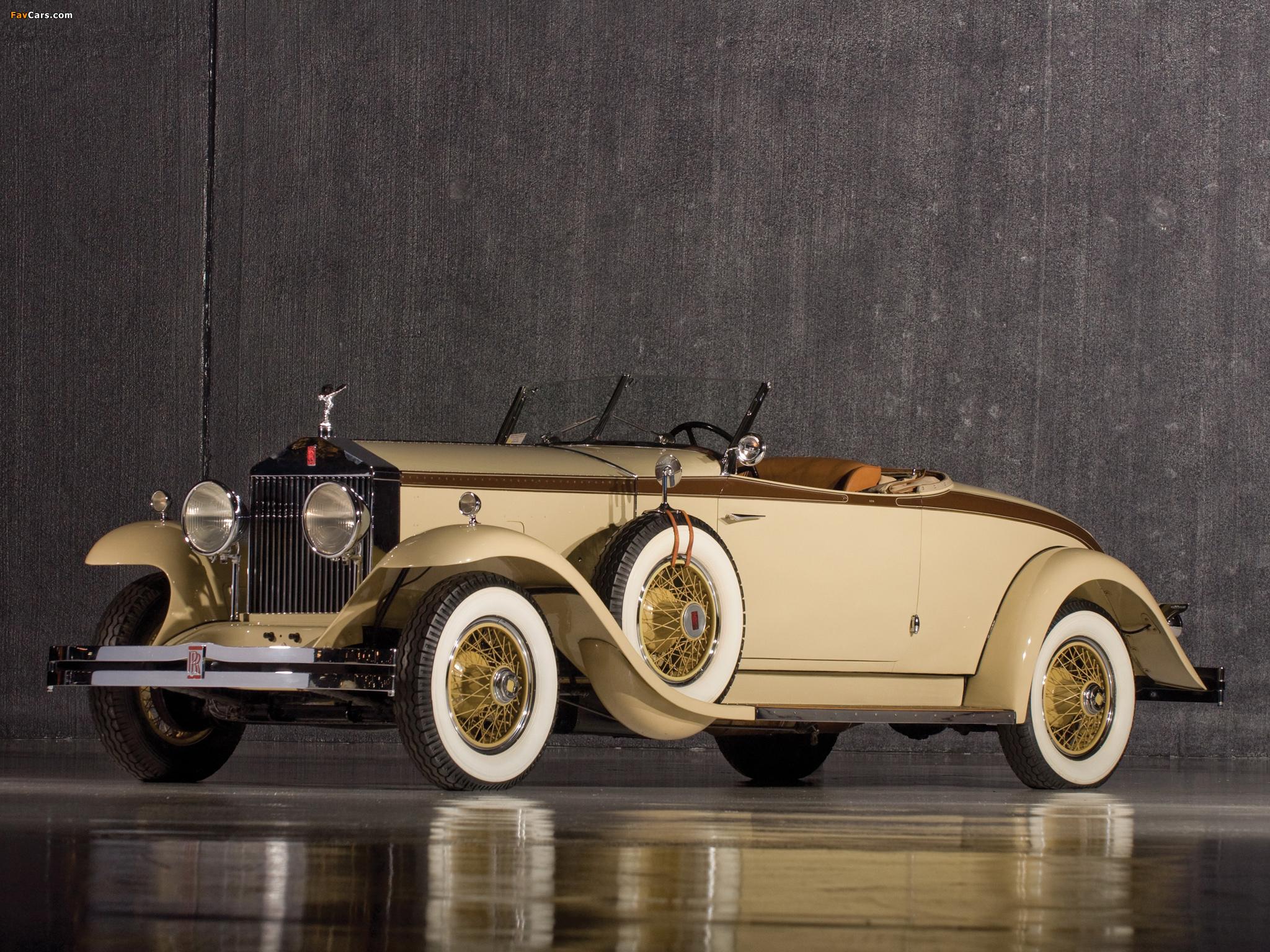 Rolls-Royce Phantom I Henley Roadster 1929 pictures (2048 x 1536)