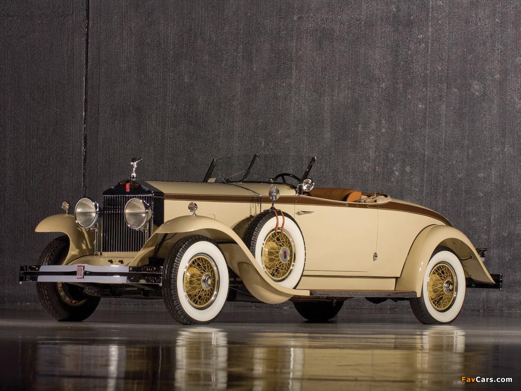 Rolls-Royce Phantom I Henley Roadster 1929 pictures (1024 x 768)
