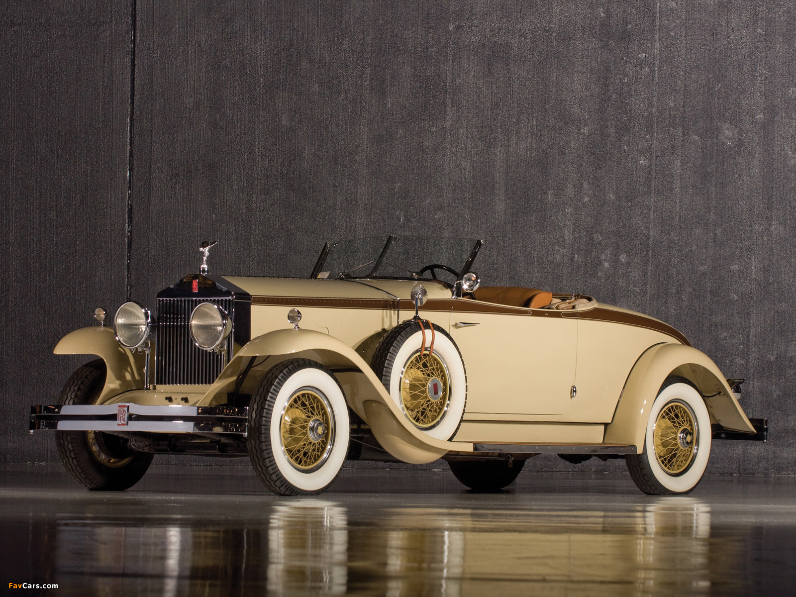 Rolls-Royce Phantom I Henley Roadster 1929 pictures (1600 x 1200)