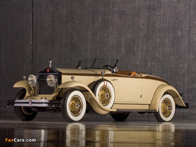Rolls-Royce Phantom I Henley Roadster 1929 pictures (640 x 480)