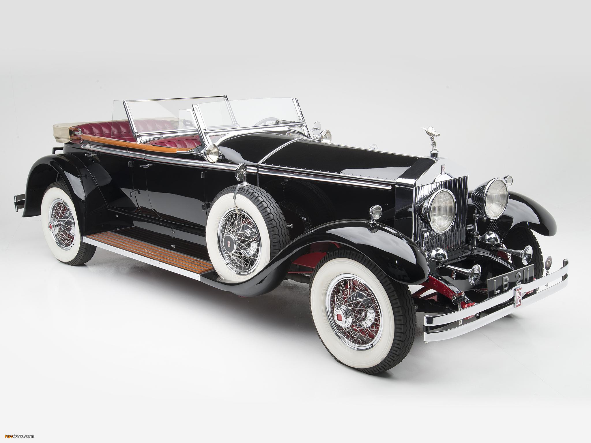 Rolls-Royce Springfield Phantom I Ascot Phaeton by Brewster (S308LR-7169) 1929 pictures (2048 x 1536)