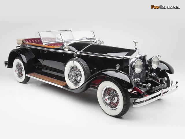 Rolls-Royce Springfield Phantom I Ascot Phaeton by Brewster (S308LR-7169) 1929 pictures (640 x 480)