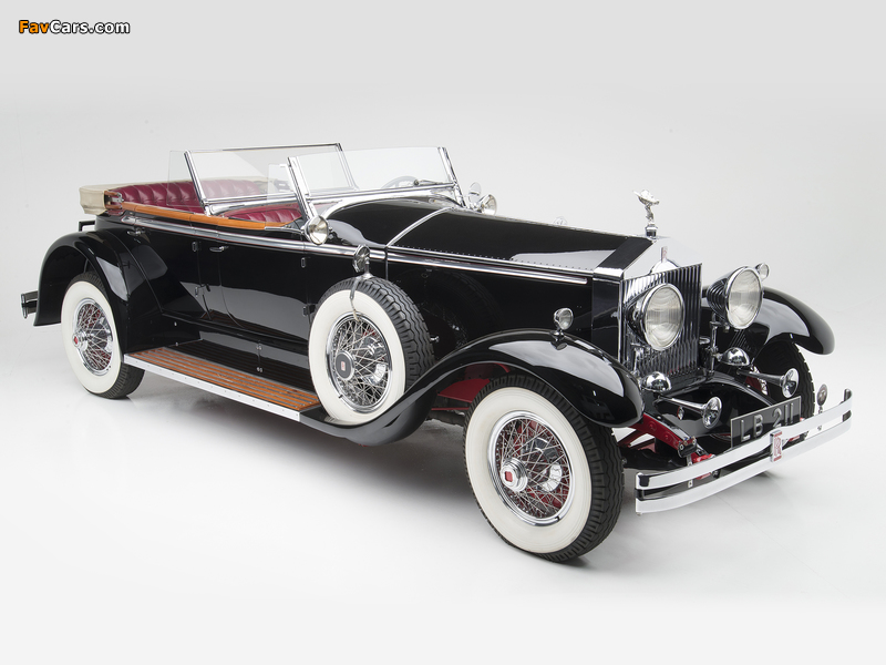 Rolls-Royce Springfield Phantom I Ascot Phaeton by Brewster (S308LR-7169) 1929 pictures (800 x 600)