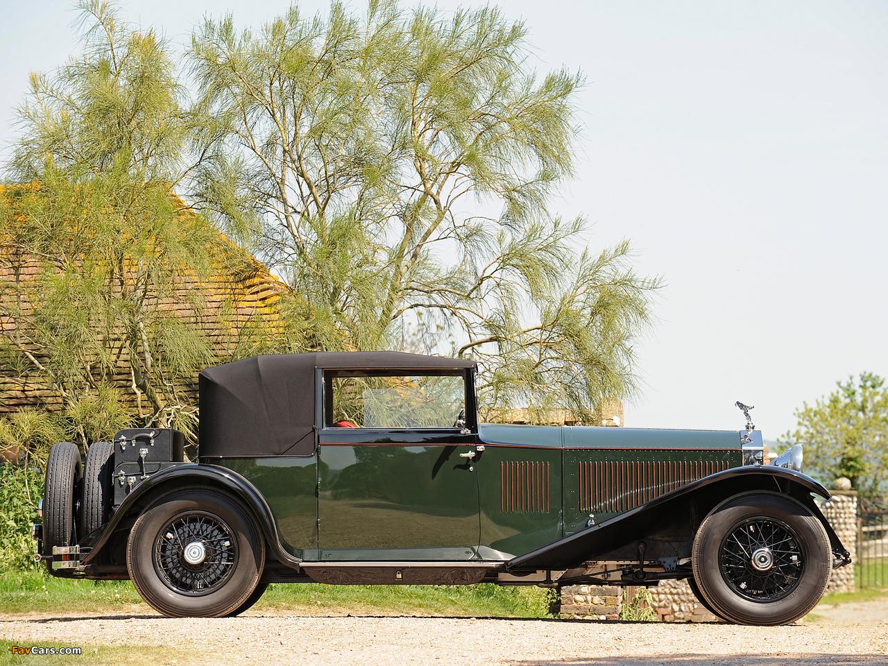 Rolls-Royce Phantom II Continental Coupe by Barker 1930 photos (1280 x 960)