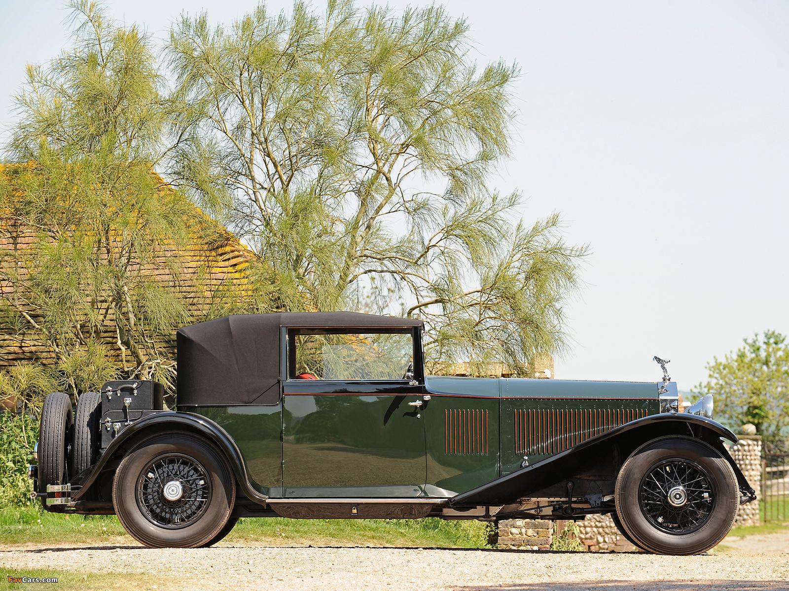 Rolls-Royce Phantom II Continental Coupe by Barker 1930 photos (1600 x 1200)