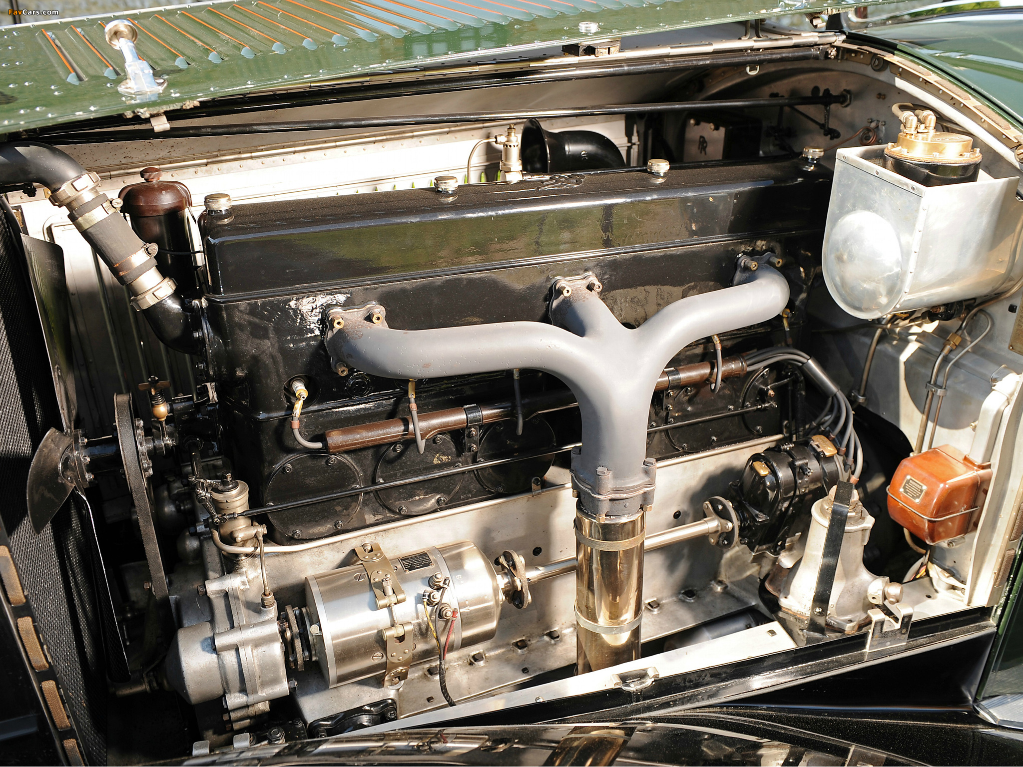 Rolls-Royce Phantom II Continental Coupe by Barker 1930 pictures (2048 x 1536)