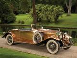 Rolls-Royce Phantom II Open Tourer by Brockman 1930 pictures