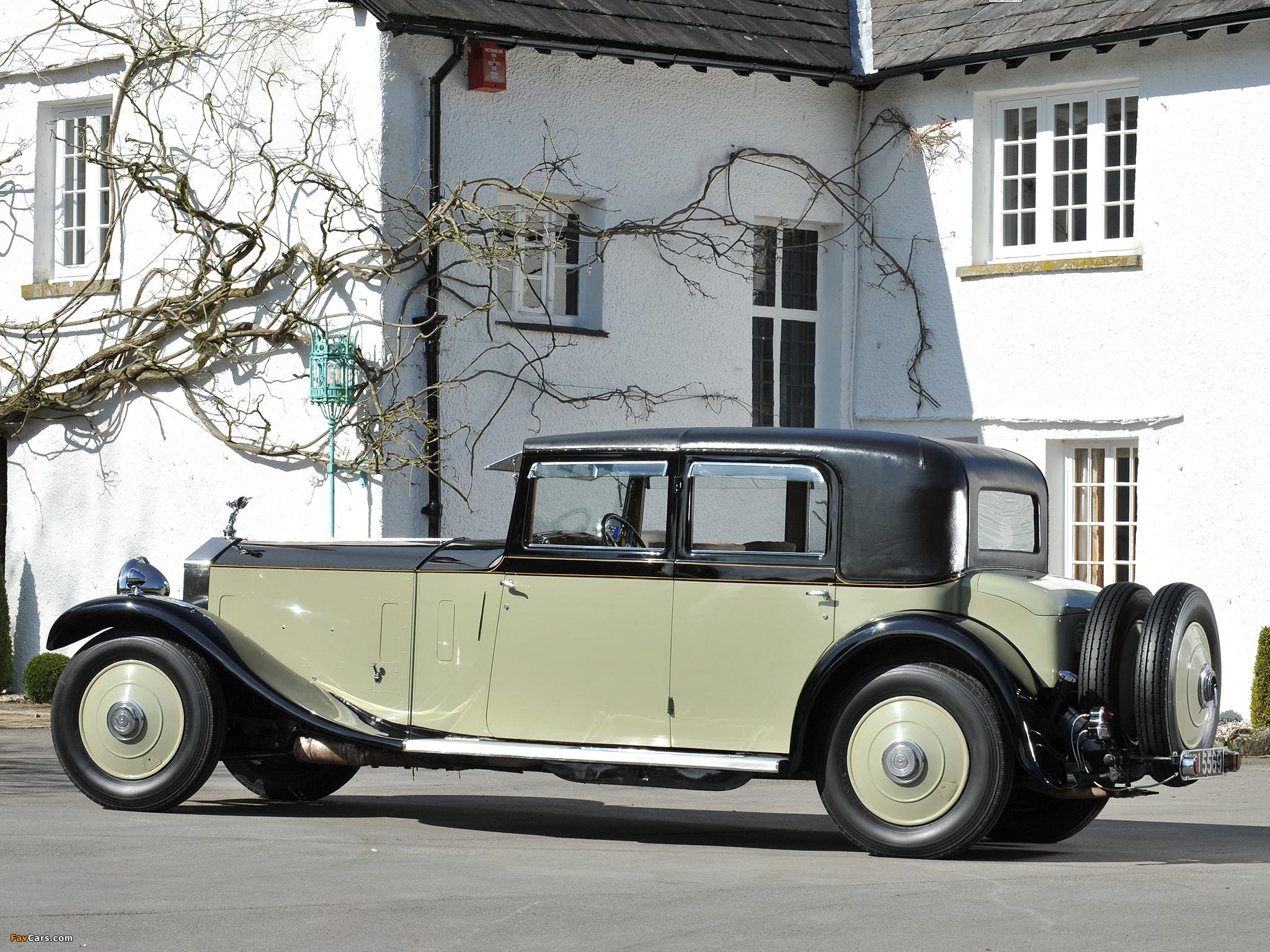 Rolls-Royce Phantom II 40/50 HP Saloon Limousine by Barker 1931 images (2048 x 1536)