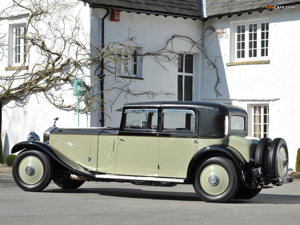 Rolls-Royce Phantom II 40/50 HP Saloon Limousine by Barker 1931 images (1024 x 768)