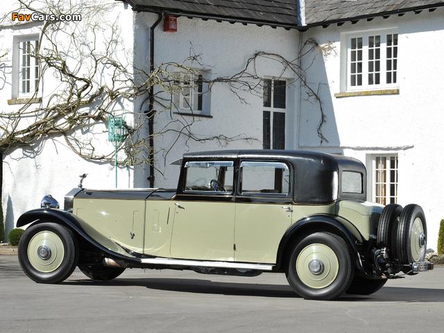 Rolls-Royce Phantom II 40/50 HP Saloon Limousine by Barker 1931 images (640 x 480)