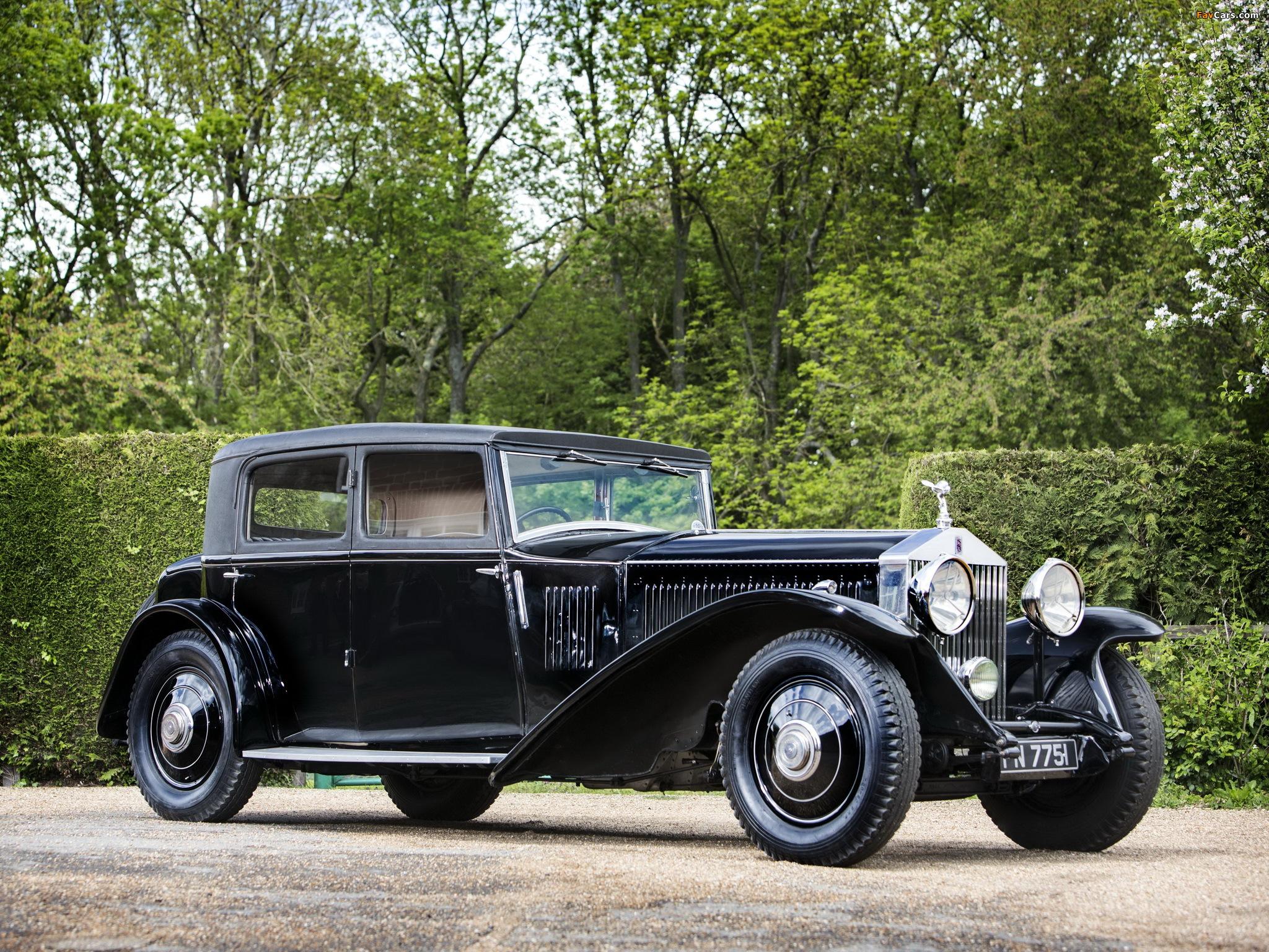 Rolls-Royce Phantom II Continental Touring Saloon by Mulliner 1931 photos (2048 x 1536)