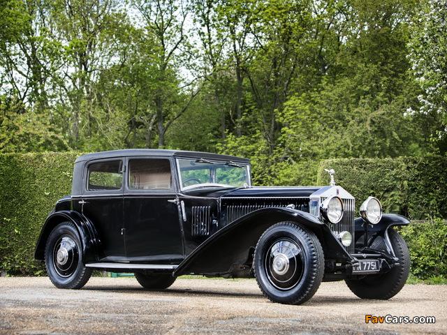 Rolls-Royce Phantom II Continental Touring Saloon by Mulliner 1931 photos (640 x 480)